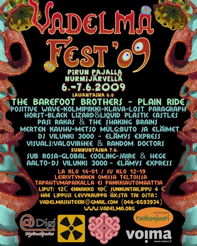 vadelma fest 09